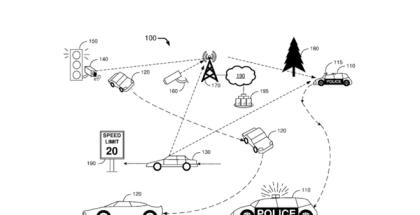 Ford patenta un coche de policía autónomo al estilo RoboCop.