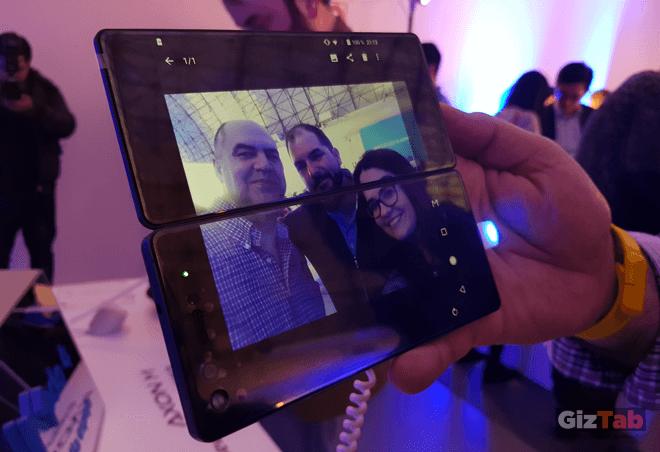 El ZTE Axon M posee una única cámara de 20 mpx que permite capturar selfies