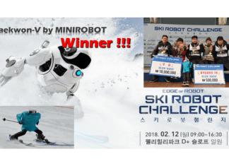 ski robot juegos olimpicos de invierno 2018