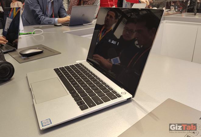 Huawei Matebook X Pro tiene excelentes acabados