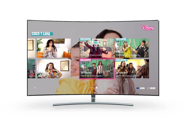La aplicación de Disney Channel llega a los televisores Smart TV de Samsung