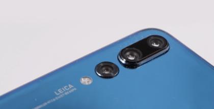 Detalle de la Cámara Triple del Huawei P20 Pro