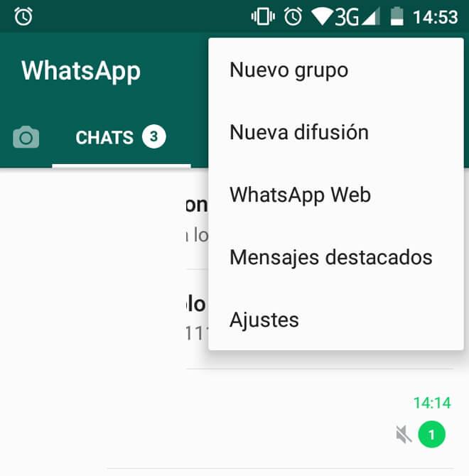 WhatsApp en el ordenador Paso 2
