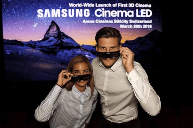 Lanzamiento de la primera pantalla Cinema LED en un cine europeo