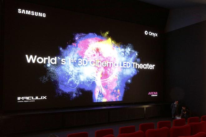 Abre el primer cine en Europa con pantalla Samsung Cinema LED