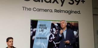 Celestino García, Vicepresidente Corporativo de Samsung, en la presentación del estudio