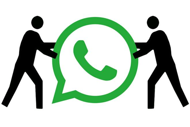 Dos números en WhatsApp