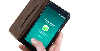 WhatsApp y el círculo negro