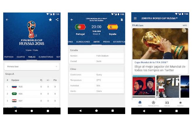 Los horarios del Mundial 2018 en tu móvil con la app oficial de la FIFA