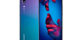 """Huawei incorpora el tono degradado """"Twilight"""" a la gama de colores disponibles para Huawei P20"""