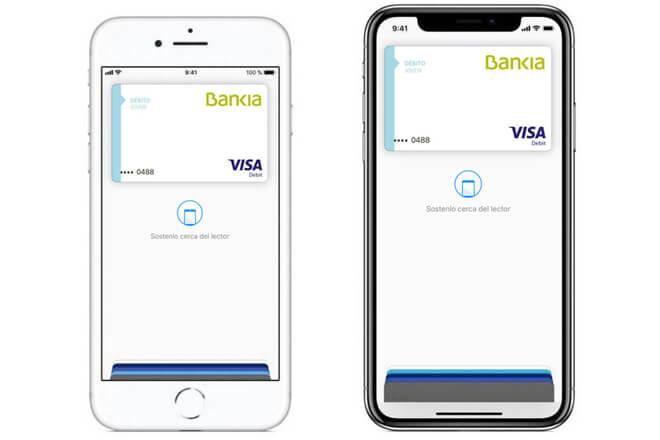 Apple Pay ahora es compatible con Bankia