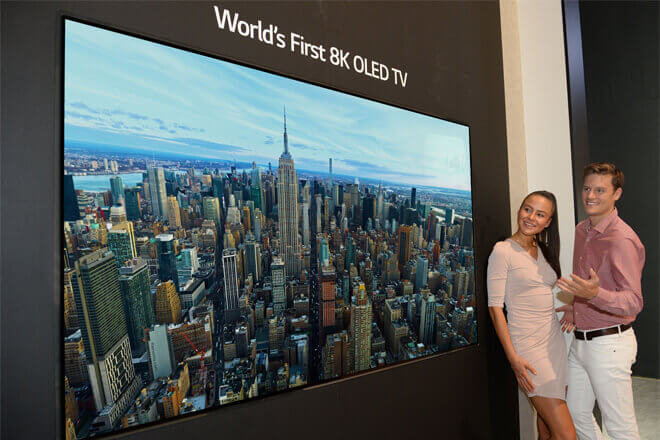 Foto de TV OLED 8K LG
