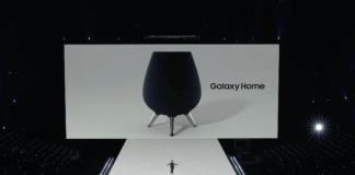 altavoz inteligente Galaxy home