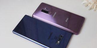 El S9 plus y el Galaxy Note 9 están entre los mejores moviles para selfies