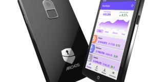 Primer monedero hardware para cripto-activos de ARCHOS, el Safe-T Touch