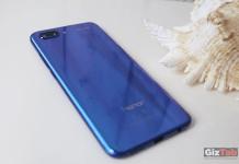 El diseño Aurora Glass del Honor 10 refleja colores vivos desde todos los ángulos