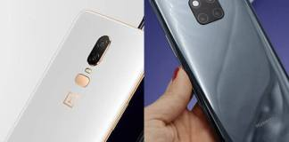 Comparativa del One Plus 6T Vs Huawei Mate 20 Pro