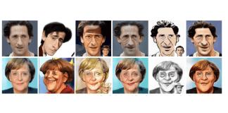 imagen de varios cuadros de caricaturas