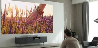 LG Smart Laser 4K de Tiro Ultra Corto