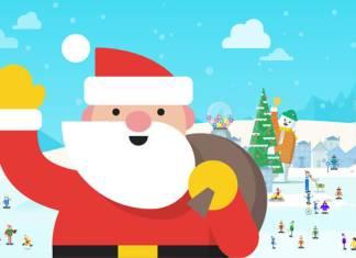 seguir a Papa Noel o Santa Claus en Google