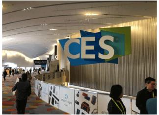 imagen de letrero del CES 2019
