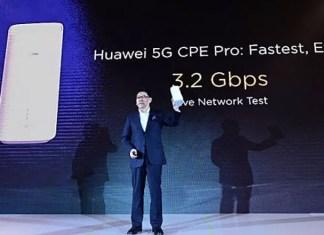 smartphone 5g de Huawei