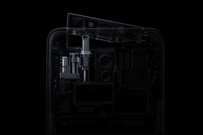 La serie Reno de OPPO tiene una cámara frontal emergente