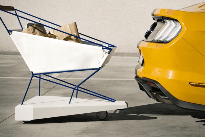Ford ha ideado un método para eliminar el estrés de ir a la compra, inspirándose en su nueva tecnología que ayuda a los conductores a evitar accidentes en carretera
