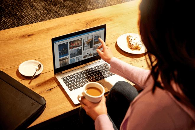 El nuevo HP EliteBook 830 x360 G6 ha sido optimizado para adaptarse mejor a los entornos de trabajo actuales y en continua evolución.