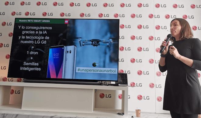 El Hogar Inteligente de LG es también sostenible: la empresa está comprometida con el medioambiente