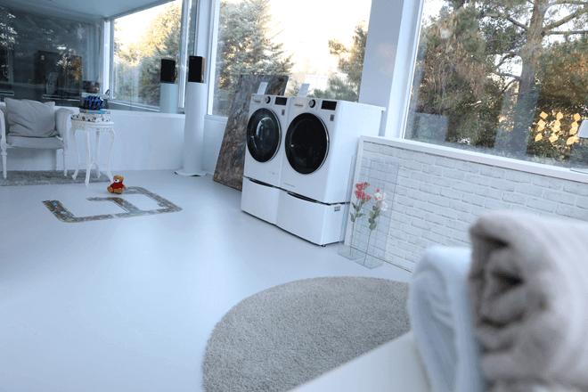 Gracias a la Inteligencia Artificial y a la tecnología TurboWashTM 360º de la nueva gama de lavadoras inteligentes LG, se incrementa la eficiencia, la rapidez del lavado y el cuidado de los tejidos