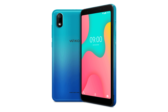 """Con una pantalla panorámica compacta de 5,45"""" y un ratio de pantalla de 18:9, memoria de 16G y conectividad 4G, el Wiko Y60 se puede encontrar en tres colores diferentes a un precio recomendado de 89€"""