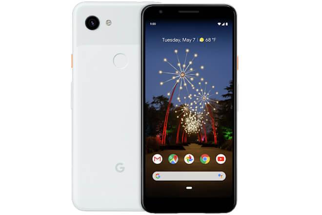 Características del Google Pixel 3a XL