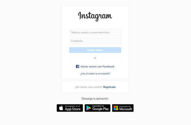 Cómo saber tu contraseña de Instagram