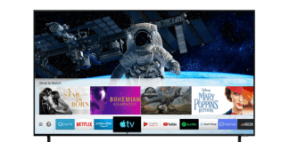 Las nuevas aplicaciones Apple TV y AirPlay 2, están disponibles en los televisores Samsung Smart TV de 2018 y 2019