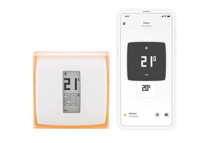 Imagen del termostato inteligente Netatmo