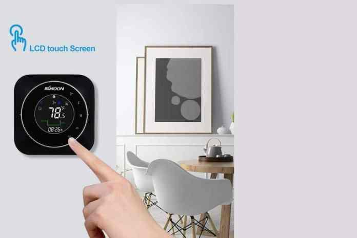 Imageb del termostato inteligente Baugger