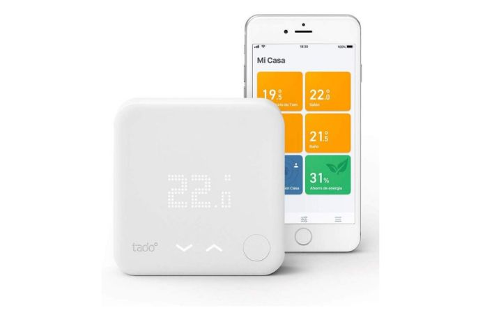 Imagen del termostato inteligente Tado