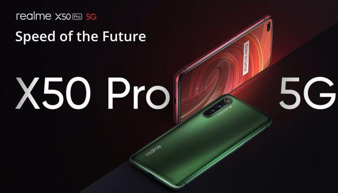 Mejores móviles de 2020 Realme x50 Pro