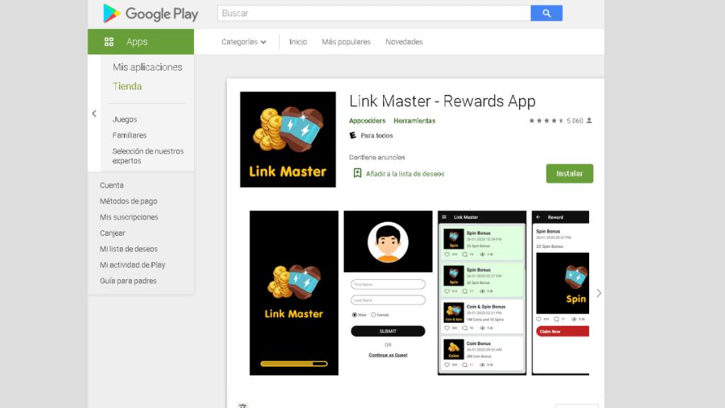 Esta app permite registrarte con tu usuario y contraseña.