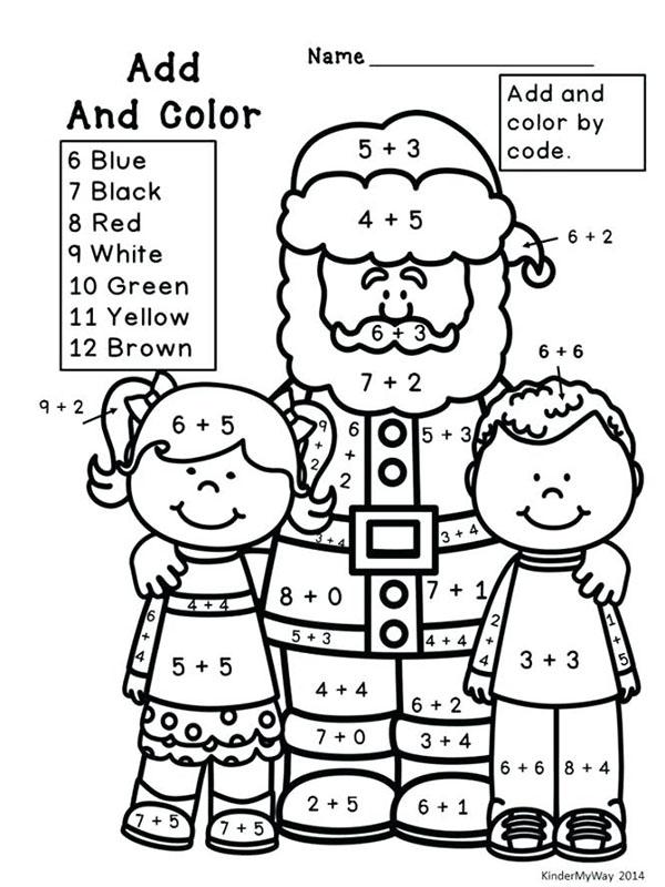 dibujodibujo navidad colorear por numeros renonavidad colorear por numeros papa noel