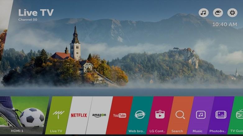 Disfruta de la nueva actualización de webOS 3.5