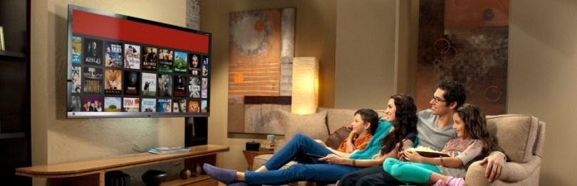 Con esta TV podremos navegar en internet, descargar aplicaciones y mucho más