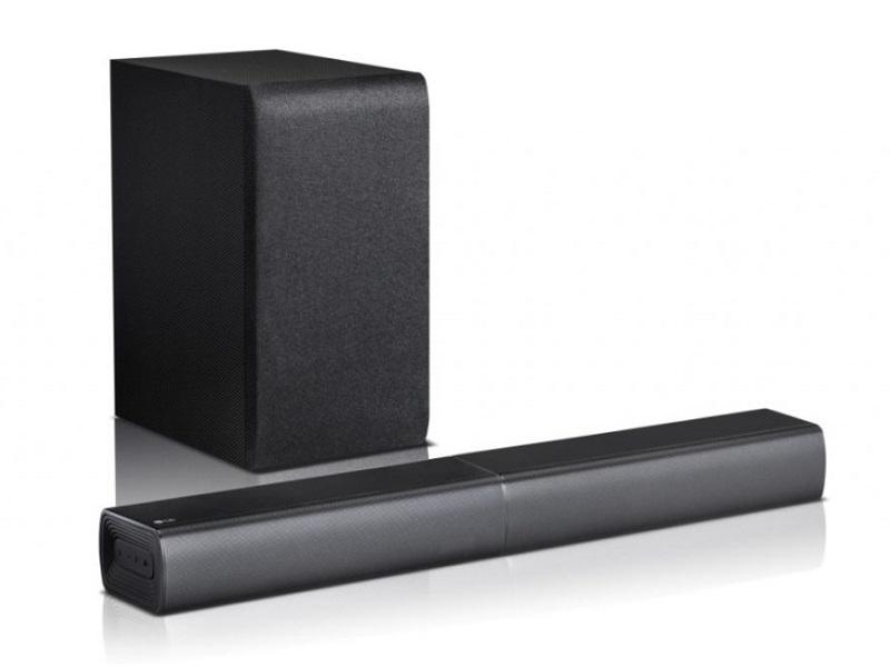 LG SJ7, una barra de sonido con diseño Flex y 360 W