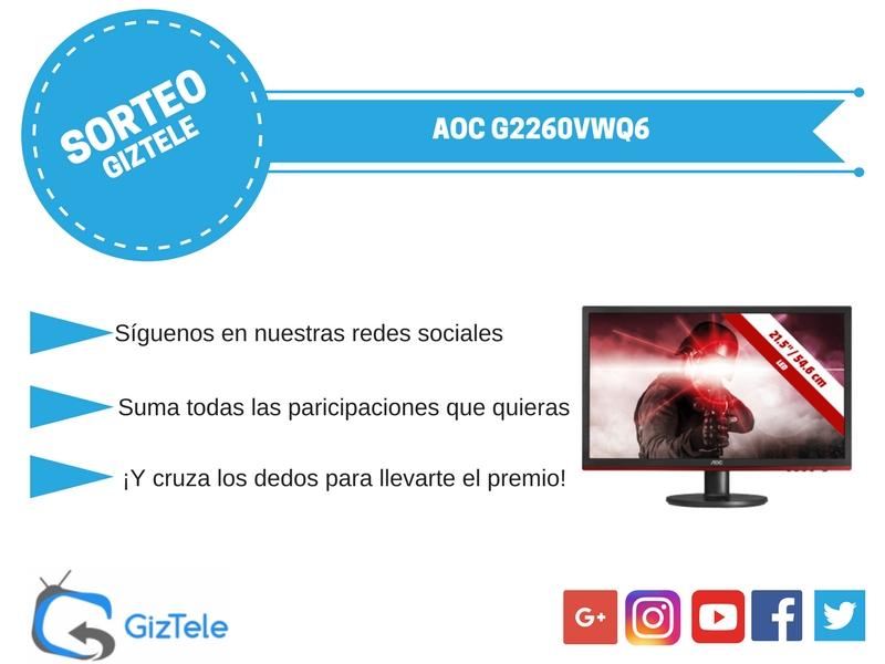 SORTEO ESPECIAL IFA '17: Monitor AOC G2260VWQ6 [FINALIZADO]