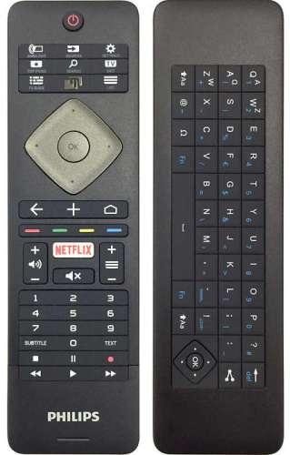 El mando de la TV incluye teclado