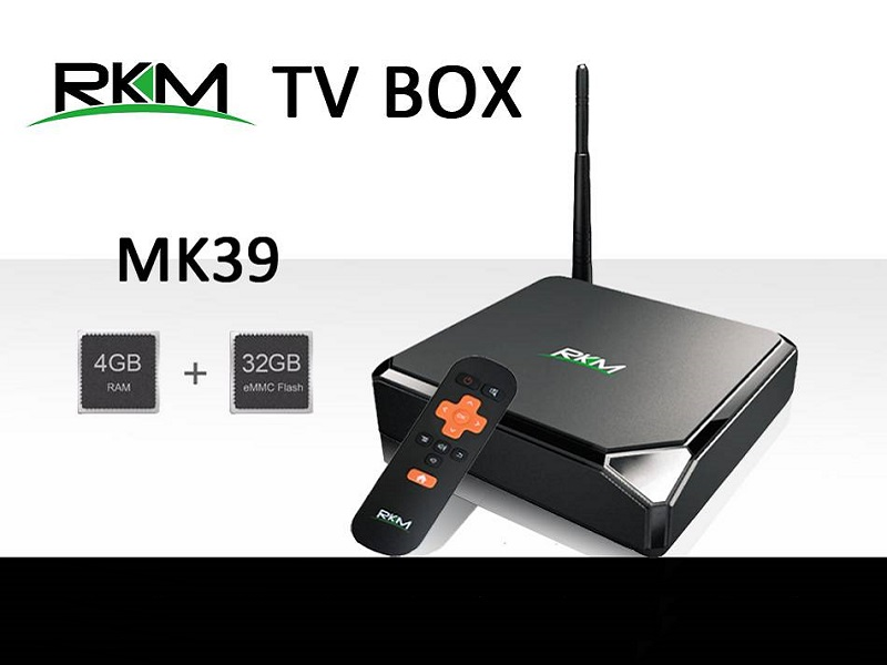 Rikomagic MK39, TV Box con Android actualizado, 4K y USB-C