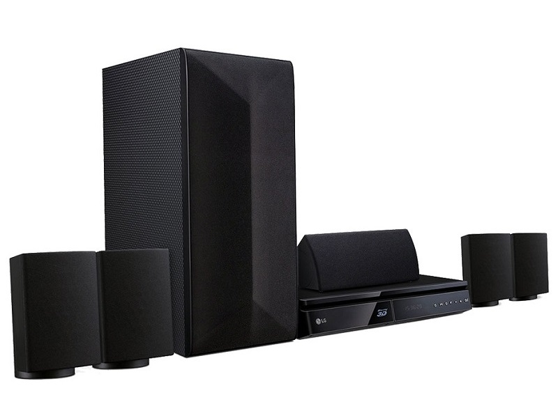 LG LHB625, reproductor Blu-Ray 3D con audio incluido