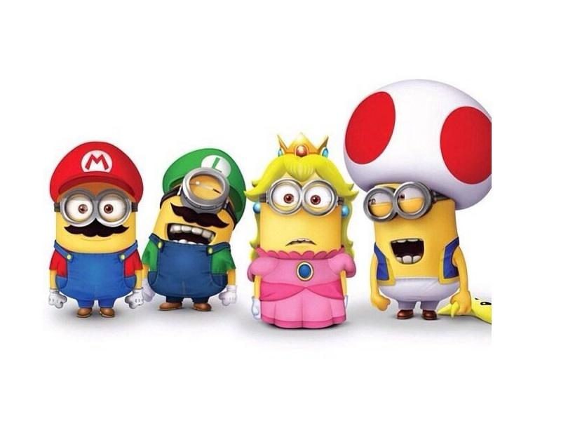 Super Mario podría tener su propia versión minion en una película