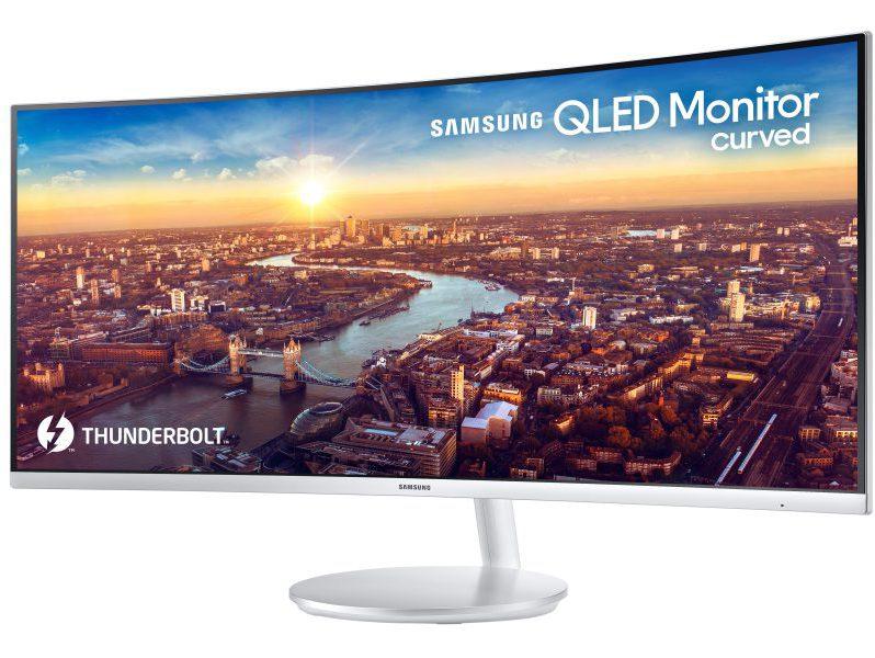 #CES18: Samsung nos deleita con un monitor curvo con Thunderbolt 3
